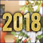 С наступающими новогодними праздниками – Новым 2018 Годом и Рождеством!