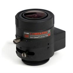 AVL-M2812DIR - CS вариообъектив 2,8-12мм для камер 1,3Мп, АРД - фото 3969