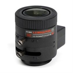 AVL-5M33105DIR - CS вариообъектив 3,3-10,5мм для камер до 5Мп, АРД - фото 3970
