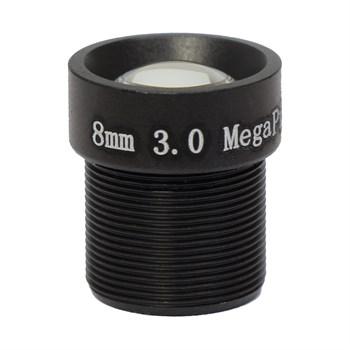AVL-3M08BIR-L - микрообъектив 8мм для камер до 3Мп - фото 5068