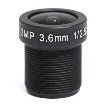 AVL-3M36BIR-L - микрообъектив 3,6мм для камер до 3Мп - фото 6603