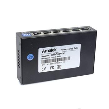 AN-S6P4M - 6-портовый 100 Мбит/с коммутатор с PoE+ до 60Вт - фото 6744