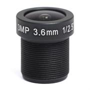 AVL-3M36BIR-L - микрообъектив 3,6мм для камер до 3Мп